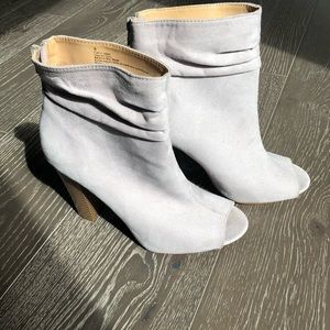 Express Peep Toe Booties